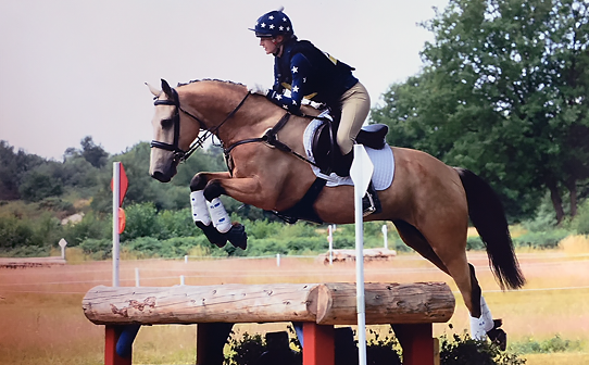 Hannah and Teddy love competing in XC Colours qualifying for Blenheim