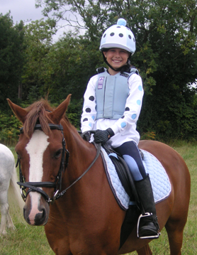 Look the part in colours to match your horse!
