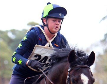 Navy and Sky Polo at Hunter Trials